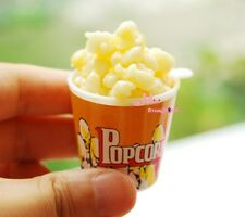1/6 scale Barbie Blythe DOLL Dollhouse Miniature A BUCKET OF POPCORN