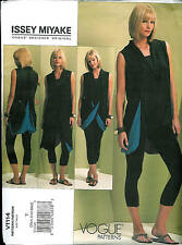 Vogue 1114 Issey Miyake Loose Fitting Top & Leggings Pattern  Sizes XS-S-M