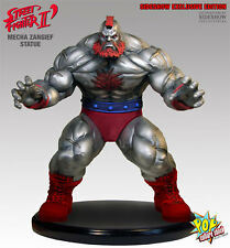 MECHA ZANGIEF Mixed Media Statue by Pop Culture Shock Street Fighter