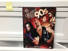 ** WWE Greatest Stars of the 90s (DVD, 2009, 3-Disc Set) ~ Free Shipping!  (F)