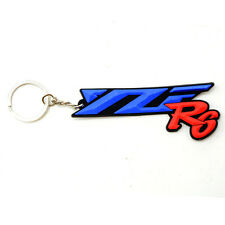 Motorcycle Accessories Red Key Ring Key Chain 3D Soft Rubber Yamaha YZF R6