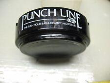 PUNCH  LINE   BAR & COMEDY NIGHT  CLUB BLACK   AMETHYST VINTAGE