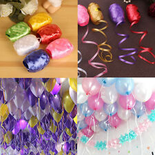 6 color 5mm10m Balloon Ribbon Rope Flower Festival Wedding Party Supplies