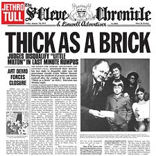 Jethro Tull - Thick As A Brick 180g LP NEW SEALED! w/ 24 page booklet