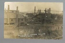 York PENNSYLVANIA RP1908 ROLLER MILL EXPLOSION Steel Mill Mills DISASTER 10 DEAD