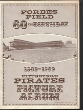 1909-1969 FORBES FIELD 60TH BIRTHDAY PITTSBURGH PIRATES PICTURE ALBUM NICE NM