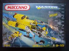 Meccano Master Connection Metall 0040 mit Licht 311 Teile NEU