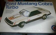 ENTEX FORD MUSTANG COBRA TURBO VINTAGE 1/20 Model Car Mountain KIT FS