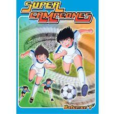 Super Campeones: La Serie Completa En Español Latino, (18-DVD'S)