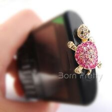 3.5mm Cute Tortoise Headset Anti Dust Ear Cap Plug Accessories For Cell Phone