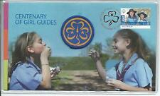 2010 Girl Guides Stamp & Patch  Cost $10.95 Ex PO 00550/10,000 As Issued