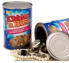 Kibbles n bits dog food secret trick soup can safe hide valueables disguise USA
