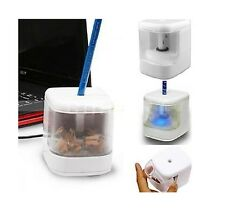 USB Powered Electric Flashing Automatic LED Pencil Sharpener Desktop Gadget