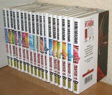 Intégrale mangas MONSTER tomes 1 à 18 de Naoki Urasawa, collection Big KANA