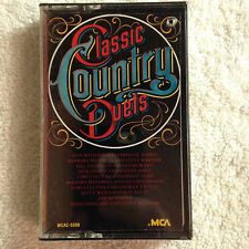 New/Sealed - Classic Country Duets - Various Artists - Cass. Tape - 1985 MCA  #2