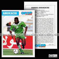 AMOKACHI DANIEL (RANCHERS BEES, FC BRUGES) - Fiche Football / Voetbal 1994