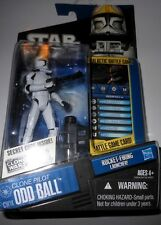 "Hasbro  STAR  WARS  CLONE   PILOT  ODD   BALL!.  yr.2009   33/4""  Action  Figure"