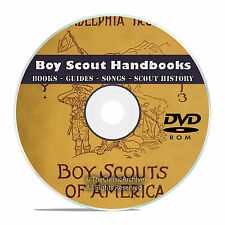 360 Boy Scout Handbooks Collection, Scouting, Songs, Magazines, Books on DVD V43
