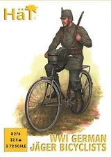 HaT 8276 - WW1 German Jager Bicyclists                        1:72 Plastic Kit