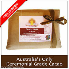 Cacao Paste (better than Powder) Organic Raw Ceremonial Quality Chocolate 500g