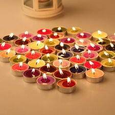 Lot 10pcs Tealights Tea Lights Scented Wedding Party Candles Decor CT09