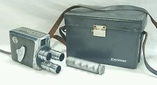 Keystone K-48 8mm Camera Bel Air Magazine 3 Lens # 2409812 w/ Handle and Case