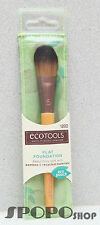 NEW EcoTools Makeup Flat Foundation Brush (New Packaging) 100% Authentic  #1202