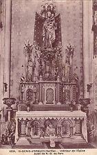 SAINT-DENIS-D'ORQUES 6339 intérieur de l'église autel de notre-dame du parc timb