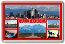 FRIDGE MAGNET - CALIFORNIA - Large - USA TOURIST