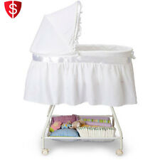 Baby Bassinet Portable Nursery Cradle Infant Basket Crib Travel Newborn Bed