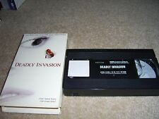 DEADLY INVASION   VHS , Robert Hays, RARE  Bees invasion
