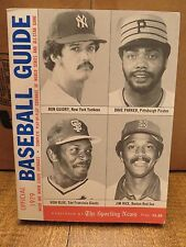 OFFICIAL BASEBALL GUIDE 1979 (The Sporting News)