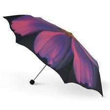 Nouveau cascada collection le Harold Feinstein mauve cosmo fleur pliant parapluie