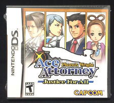Phoenix Wright Ace Attorney Justice for all  (Nintendo DS)
