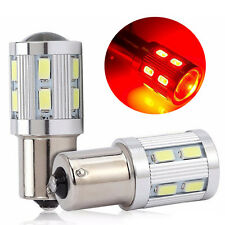 T20 BA15S P21W 1156 LED Day Light Blanco Red CREE Bulb 12-SMD 5730 12V 6000K