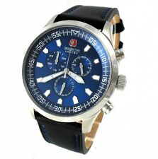 Swiss Military Hanowa 06-4264.04.003 chronograph acero inoxidable cuero PVP * 498,00 €