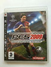 Pro Evolution Soccer PES 2009  For Sony Playstation 3 (New)