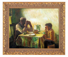 Custom Oil Painting repro on Canvas Henry Ossawa Tanner The Thankful Poor