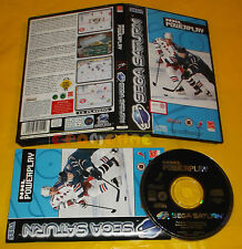 NHL POWERPLAY Sega Saturn  Versione Europea PAL ○○○○○ COMPLETO