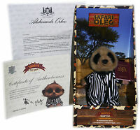 Meerkat Limited Edition Safari Baby Oleg with Certificate (COA) Letter & Box