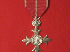 FULL SIZE MBE MILITARY MEDAL MUSEUM COPY MEDAL WITH RIBBON.