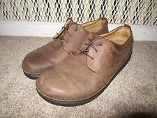 Footprints by Birkenstock Mens 9.5 - 10 SZ 43 Shoes Memphis Brown Leather Oxford