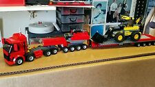 LEGO CITY CUSTOM STAGO HEAVY HAULER  TRUCK+EXTENDING LOW LOADER TRAILER   L@@K