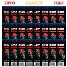 New Zippo Lighter Replacement Flint Genuine Pack of 24 Value Packs(144X Flints)