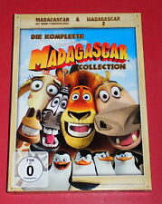Madagascar & Madagascar 2 (Collection) -- 3er-DVD