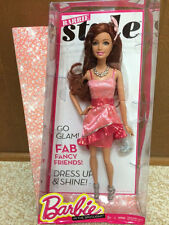 Barbie Teresa Fashionista Style Articulated Doll Brunette Green Eye Root Eyelash