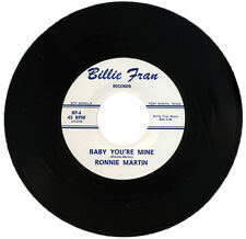 "RONNIE MARTIN  ""BABY YOU'RE MINE""   KILLER 60's GARAGE   LISTEN!"