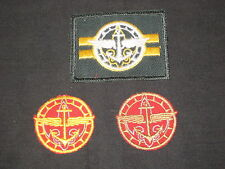 Senior Scout 1940-50s Lot of 3 Rank & Position Patches          c18