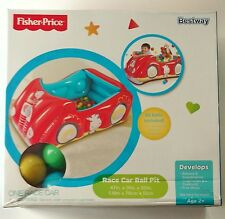 Fisher Price Race Car Ball Pit w/25 balls