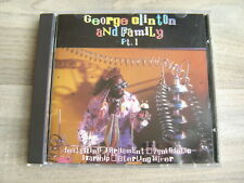 g p funk CD GEORGE CLINTON And Family Pt 1 PARLIAMENT FUNKADELIC bootsy collins